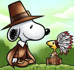 thanksgiving snoopy and woodstock drawing lesson step by step thanksgiving seasonal free