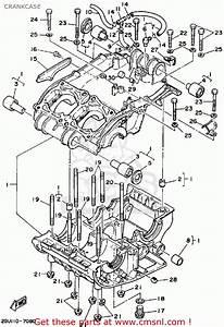 Yamaha Yfz350a Banshee 1990 Crankcase