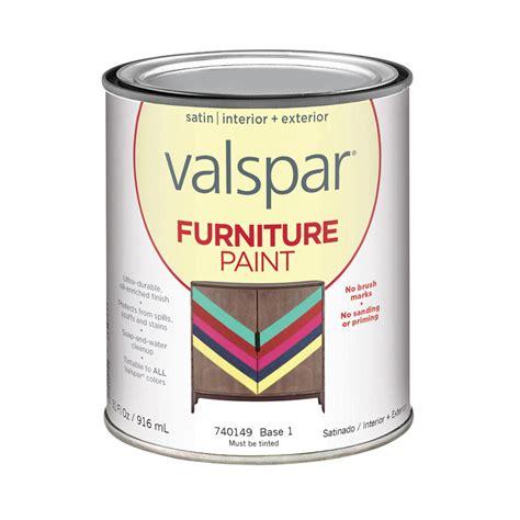 shop valspar furniture satin interior exterior paint