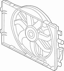 Ford Taurus Engine Cooling Fan Assembly  Radiator  Liter