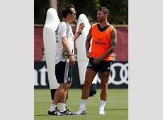 Sergio Ramos trained with the group Real Madrid CF