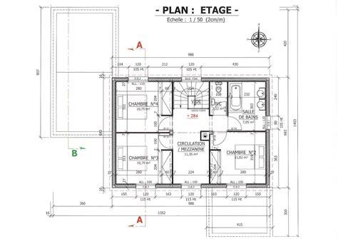 plan maison r 1 plan dune maison r 1 maison moderne