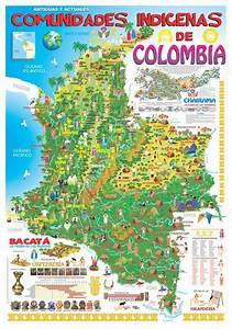 Mapa de Comunidades Indigenas de Colombia mapas