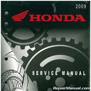 2009 Honda Crf450r Motorcycle Service Manual