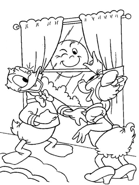 Kleurplaat Donald Duck Jong by Donald And Duck Coloring Pages And Print