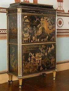 An Important 18th C Secretaire Abattant By Andre Gilbert
