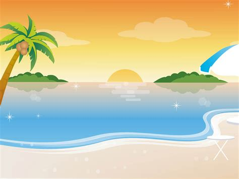 Animated Summer Wallpapers - wallpapers vector