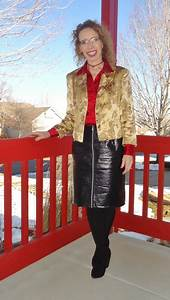 Color Blouse Design Images Leather Skirt 3 With Silk Jodie 39 S Touch Of Style