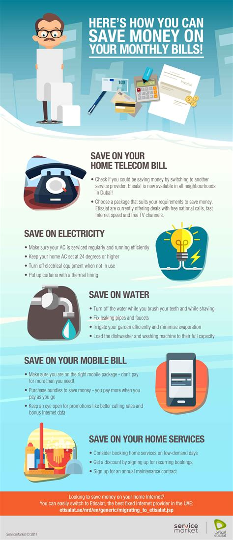 5 ways you can save money on your bills every month in