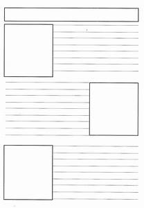 Blank Newspaper Template | cyberuse