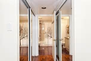 updating your bedroom with mirrored closet doors