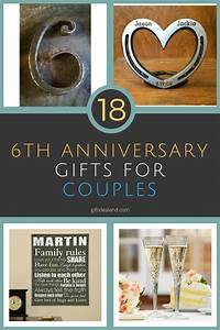 18 great 6th wedding anniversary gift ideas for couples With gift for wedding anniversary for couple