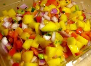 Pepper Salsa Mango Red