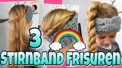 stirnband frisurencoole maedchen zoepfefrisuren youtube