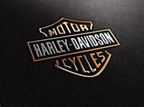 harley davidson logo wallpapers wallpaper cave