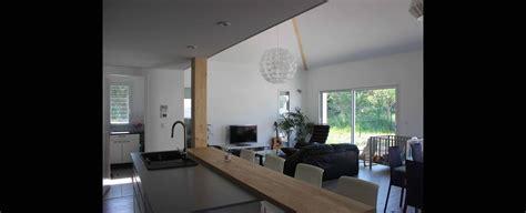 hotte cuisine ouverte maison contemporaine economique avec mezzanine à toulouse