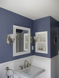 Wall painting ideas bathroom : Diy bathroom decor tips for weekend project
