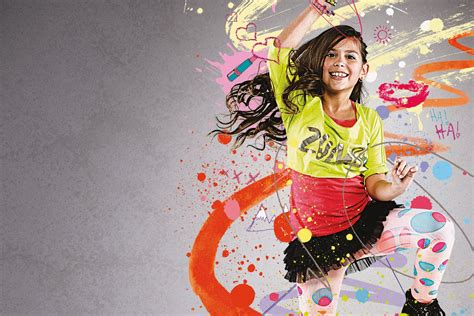 Zumba Kids Classes In Dubai At Gfx Group Fitness Experience