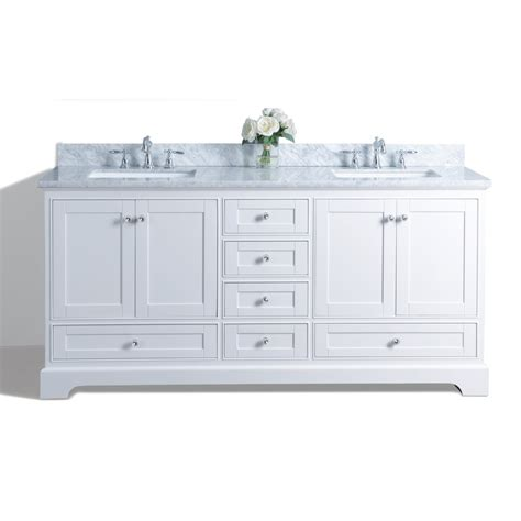 white double sink vanity shop ancerre designs audrey white undermount double sink