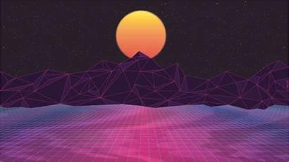 Purple Neon Retro Cool Adobe Illustrator Synth
