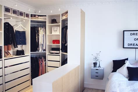 create your own walk in closet in the bedroom how did i