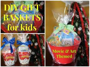 diy themed gift baskets for kids budget friendly