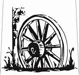 Wheel Wagon Drawing Stencils Paper Clipart Drawings Stencil Cutting Wheels Western Body Country West Cut Coloring Fence Galleries Woodburning Pages sketch template