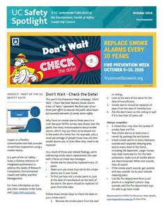 Monthly Safety Newsletter