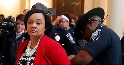 Georgia Senator Arrested Williams Female Nikema Legislator