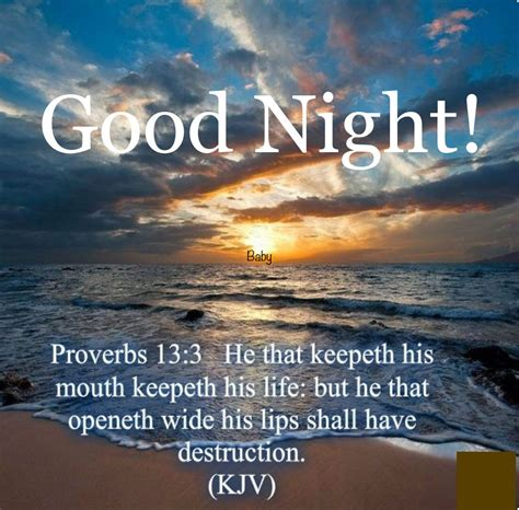 The bible serves to teach us the truth about god and ourselves. Good Night!   Gods promises, Proverbs, Bible school
