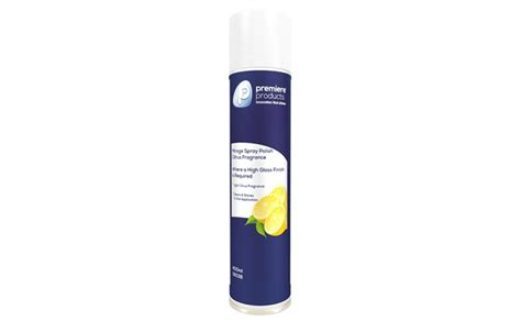 premiere cleaning products premiere products premiere mirage citrus spray polish 6 x 400ml
