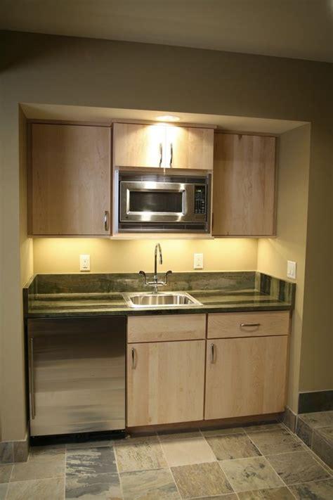 basement kitchenette       home