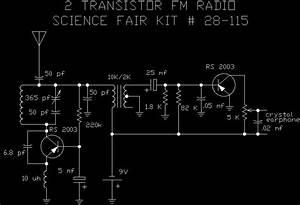 Fm Radio Antenna Amplifier Schematic Diagram  Parts