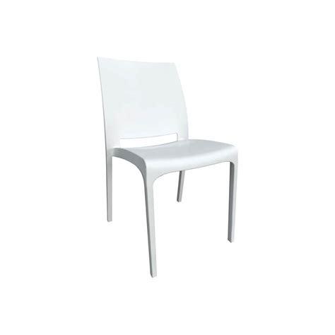 Chaise Volga Blanc  Chaises De Jardin  Tables, Chaises