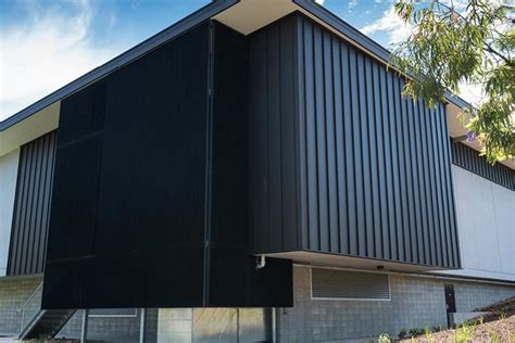 LYSAGHT ENSEAM™ CLADDING IN THE NEW COLORBOND® STEEL MATT ...