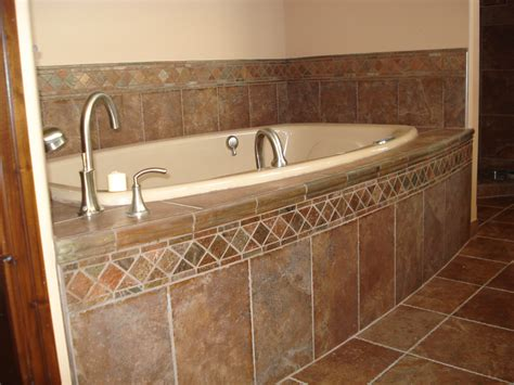 tiling a bathtub deck tile around bathtub ideas browse our photo gallery for