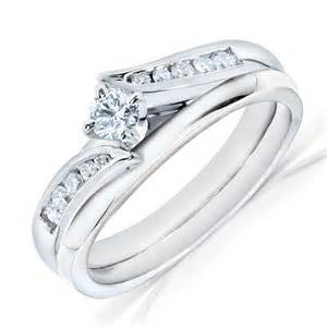 white gold wedding ring sets bridal sets white gold bridal sets wedding rings