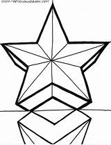 Coloring Star Pages 3d Printable Stars Drawing Shooting Clipart Christmas Easy 1526 Cliparts Shapes Clipartmag Sheet Getdrawings Popular Library Clip sketch template