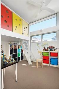 Lit En Mezzanine : lit mezzanine pour une chambre d ado originale design feria ~ Teatrodelosmanantiales.com Idées de Décoration