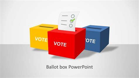 ballot powerpoint template slidemodel
