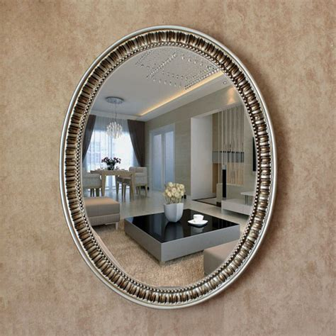 Decorative Bathroom Wall Mirrors by Oy 055 2016 New Mirror Oval Pu Large Oval Antique