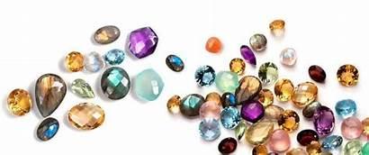 Gemstone Precious Semi Transparent Gemstones Birthstones Jewelry