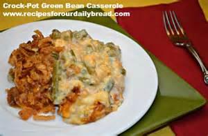 Green Bean Casserole Crock Pot