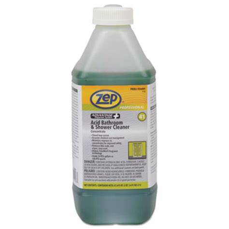 zep advantage concentrated bathroom shower cleaner acid based 2l bottle zppr36001