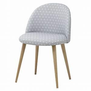 Chaise Vintage Maison Du Monde : chaise vintage grise motifs toiles et bouleau ~ Melissatoandfro.com Idées de Décoration