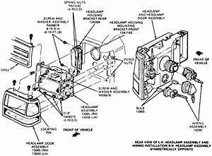 2001 Ford Taurus Headlight Adjustment
