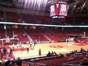 Liacouras Center, section 115, row r, seat 3 - Temple Owls ...