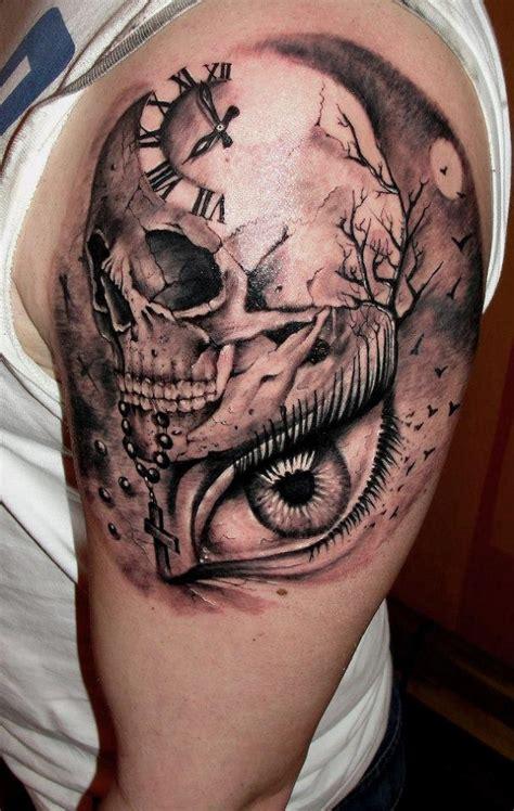 80 Frightening and Meaningful Skull Tattoos - nenuno creative