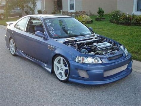 Purchase Used 99 Honda Civic Si Show Car In Davenport