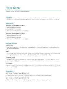 common resume file formats most popular resume templates sle resume cover letter format